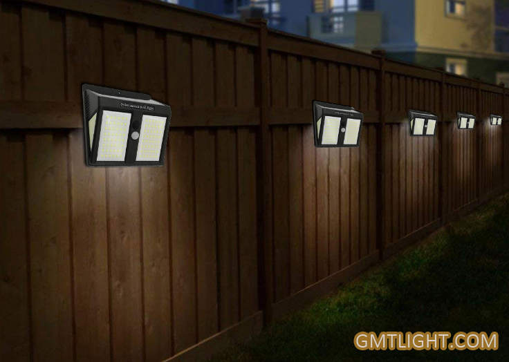 Solar Outdoor Human Induction Wall Lamp