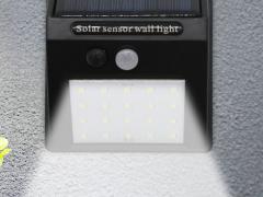 Human body induction solar LED Wall Lamp