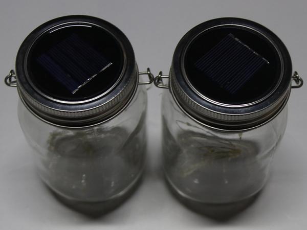 Solar Powered Fairy Lights Mason Jars Light