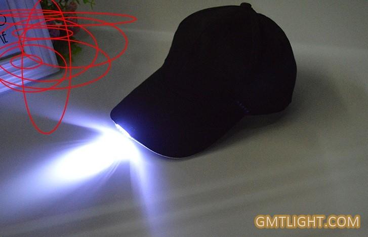LED light flashing cap