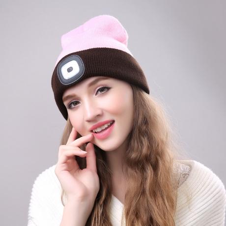 Battery Power LED Flashing Hat