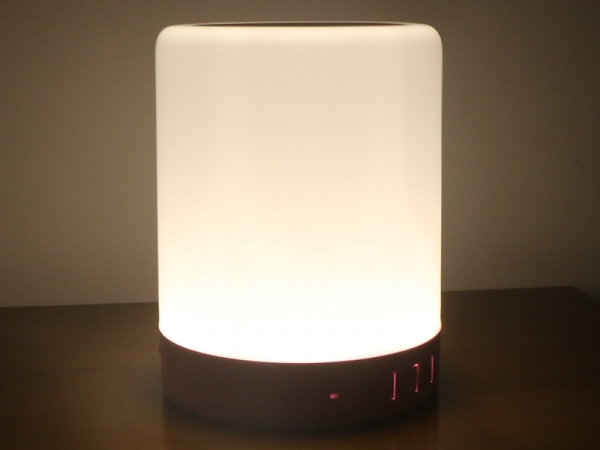 Smart LED lights with Bluetooth speakers