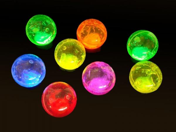 Glow bounce ball
