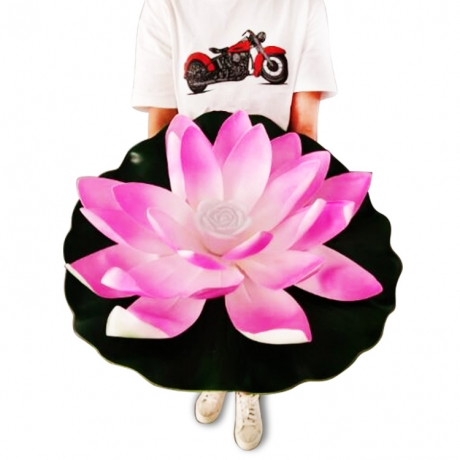 bigger sized of LED Lotus Lamp Light With Diameter of 60CM
