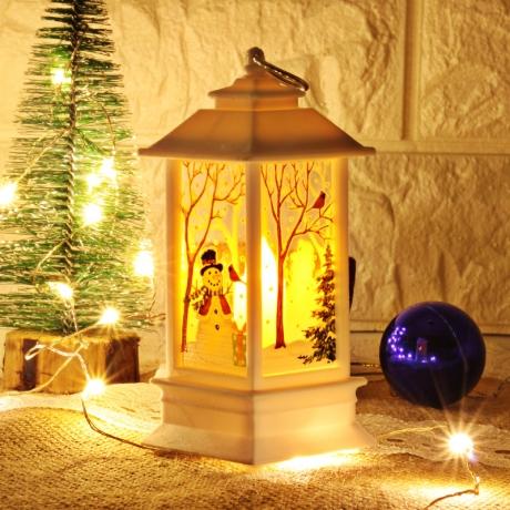 Bright Light Christmas House Hanging lantern