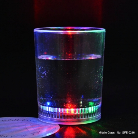 Wholesale wedding Birthday party decoration led Light Up Whisky glass cup