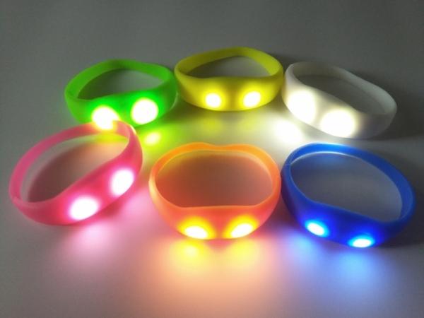 LED Sound Control Bracelet