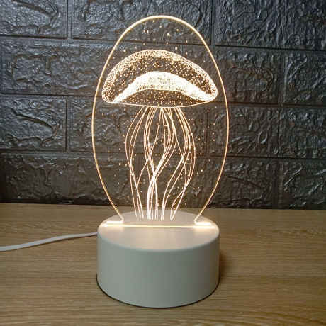 3D Creative Night Light Lamp