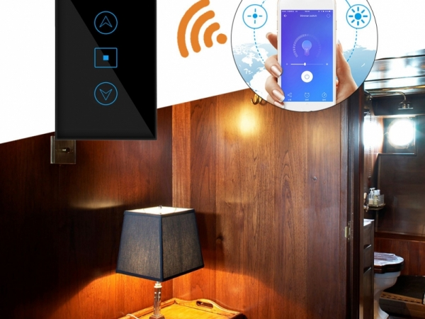 WiFi intelligent switch for dimming