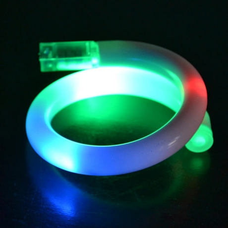 LED bangles flashing light bracelets
