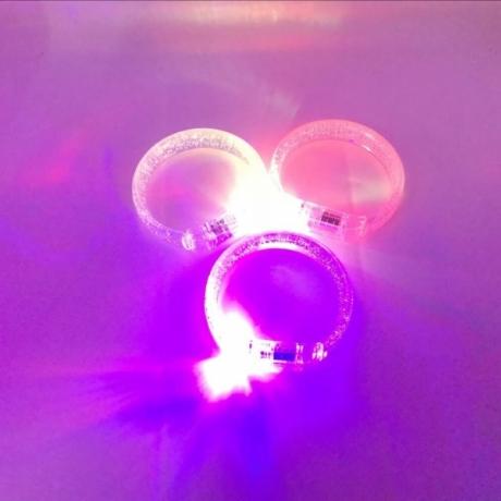LED bubble bracelet light