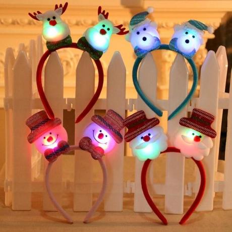 Head Band Hairpin LED Christmas Light