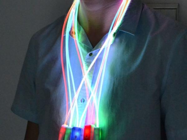 LED flashing lanyard