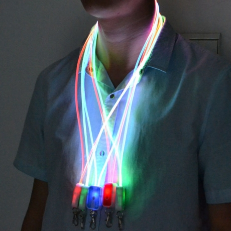 LED flashing lanyard