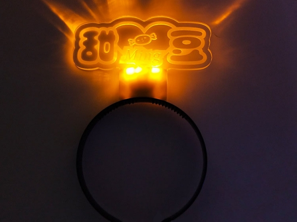 LED Acrylic Headband