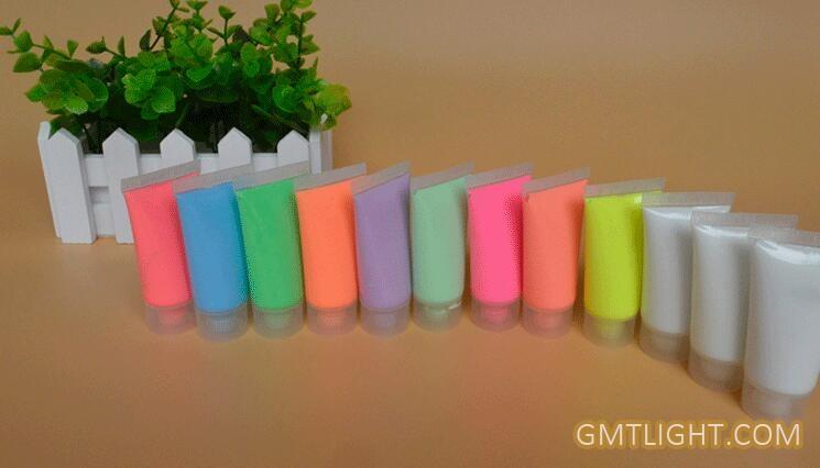 fluorescent  luminous body paint