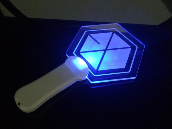 Concert Fluorescent Stick Big Logo Light