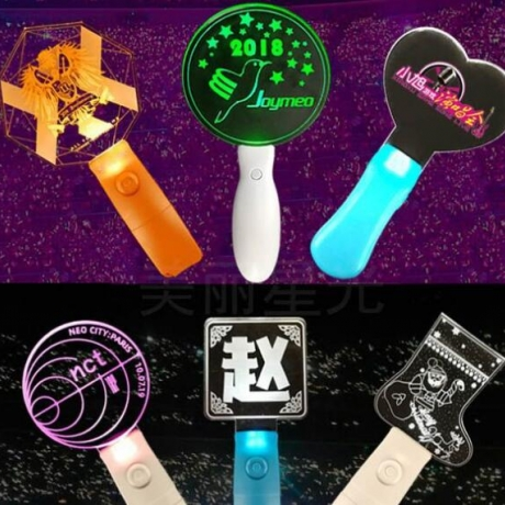 Light Stick With Logo Display