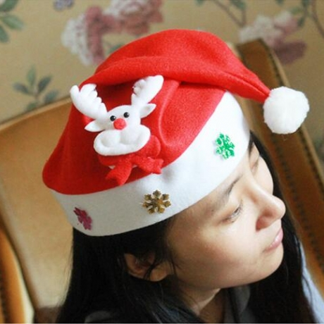 Luminous cartoon christmas hat