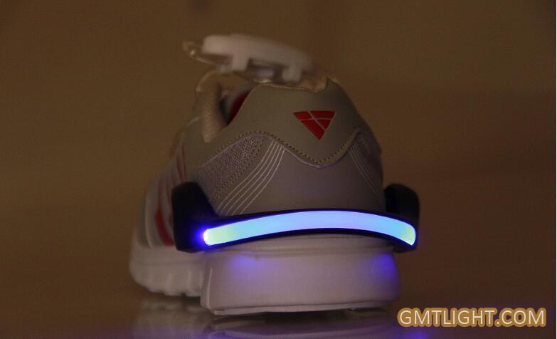 warning light for running shoes clip at night