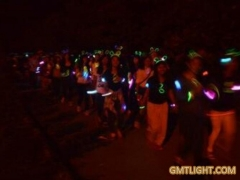 LED Luminous Arm Band is particularly eye-catching in Night Marathon