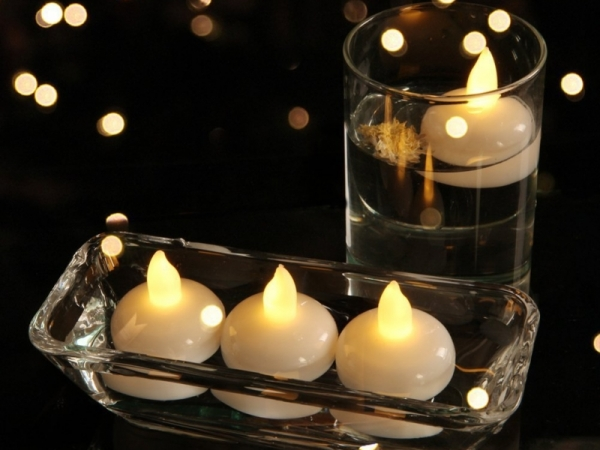 LED Waterproof floating Tealight Candle
