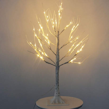 Christmas decoration USB LED birch lights