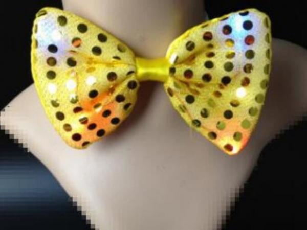 LED Light Bow Tie