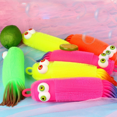 Luminous soft glue TPR vent toy