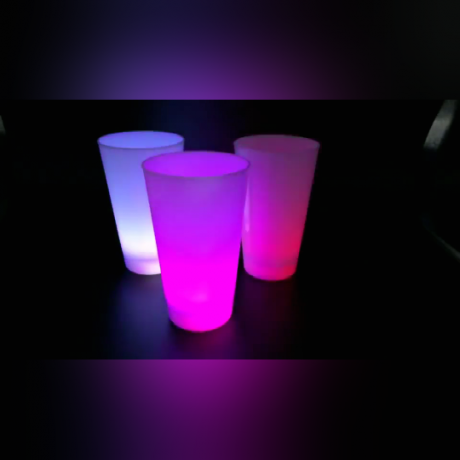 soft light effect luminous cup, let ordinary no longer ordinary