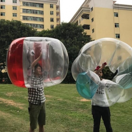 PVC inflatable collision swing ball for advertising