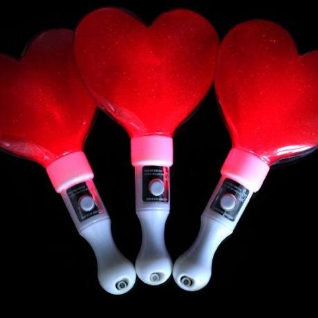 love shaped flash stick