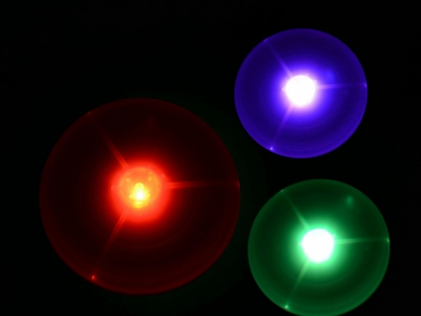 LED flying saucer light up Flying disc