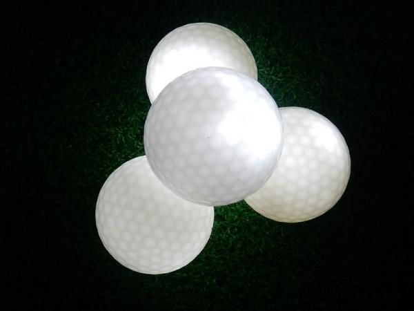 Wholesale Dark Tracker Light up LED electronic golf ball