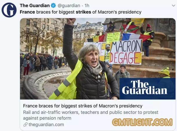 法国大罢工