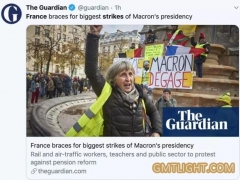 法国准备迎接马克龙总统任期内的最大罢工