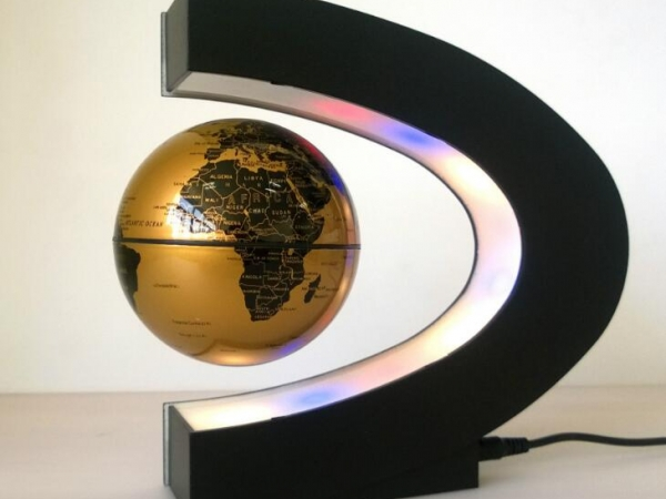 LED luminous light maglev globe