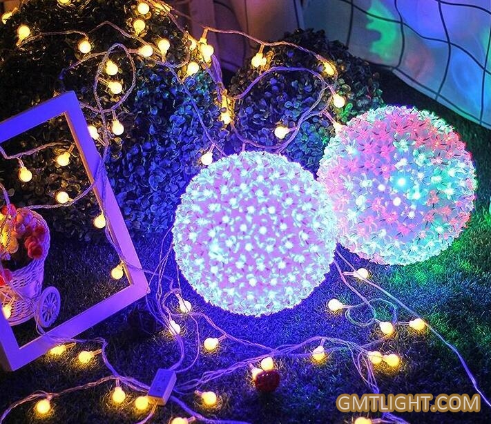 led cherry blossom ball lamp