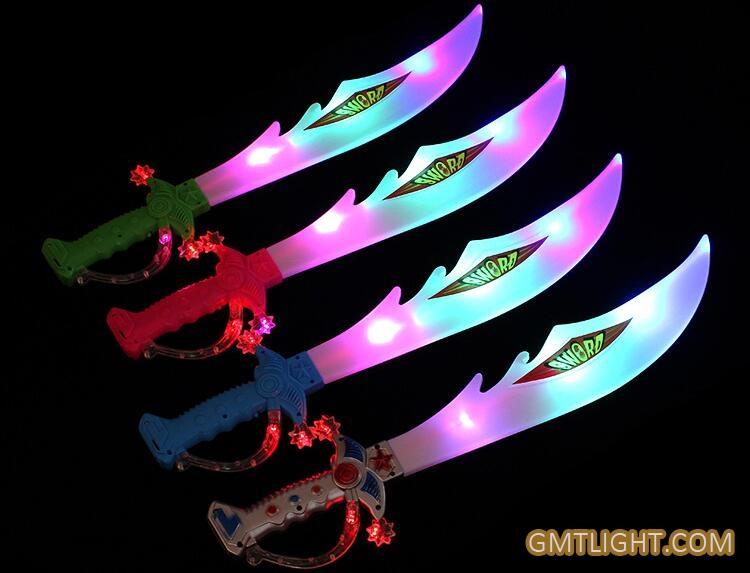 night toys shiny swords
