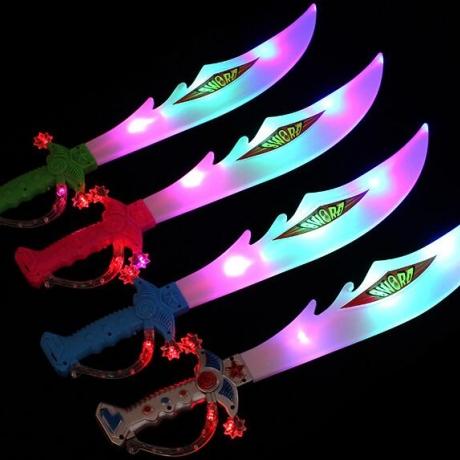 Adult night toys shiny swords