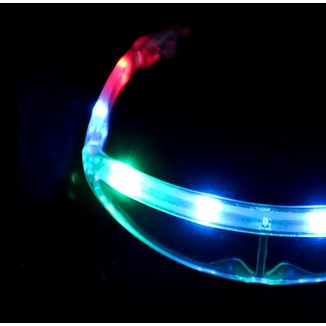 colorful space led glasses