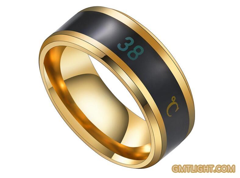 temperature display ring