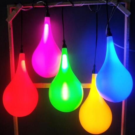 LED water-drop shape lamp