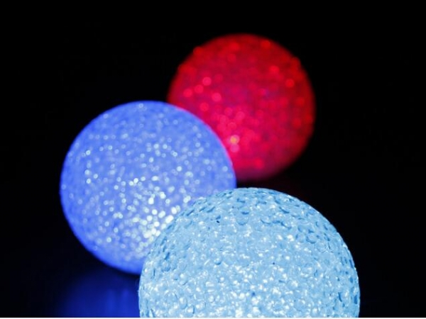 LED emitting EVA particle ball