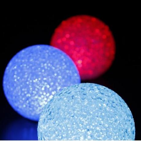 LED emitting EVA particle ball