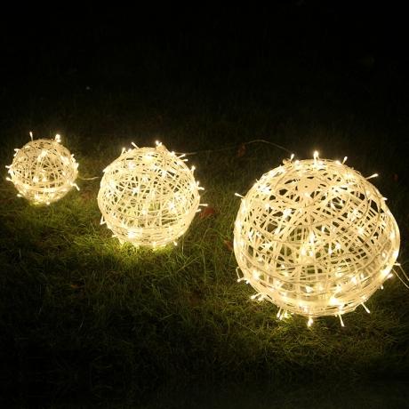 Fullcolor 3D Round Christmas Spring Festival Led Fire Ball
