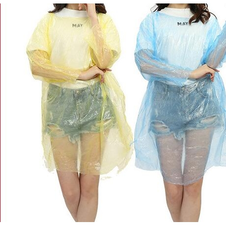 disposable portable raincoat can be used for advertising