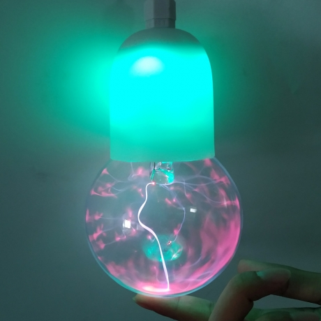Induction electrostatic plasma ball