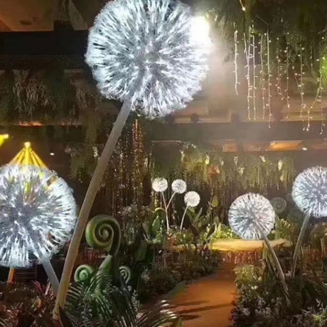 led dandelion lamp
