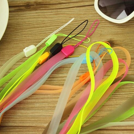 luminous silicone Lanyard